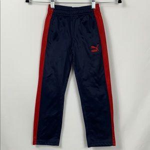 Puma navy blue/red long sweatpants size 5